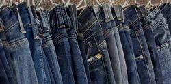 Ostico Indigo and greenish Jeans