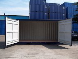 Side Door Shipping Container