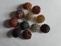 Metal Round Diamond Mushroom Buttons, Packaging Type: Packet, 600 Piece