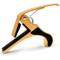 Golden Metal Guitar Capo Blg