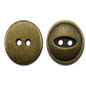 Antique Brass Round Metal Sewing Buttons