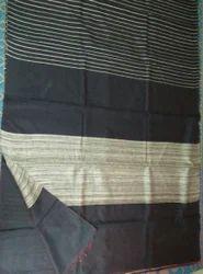 Black Eri Silk Sarees