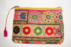 Banjara Fabric Clutch