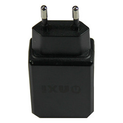 2m Black NXI Smart USB 2A Charger