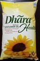 1 Litre Pouched Dhara Refined Sunflower Oil
