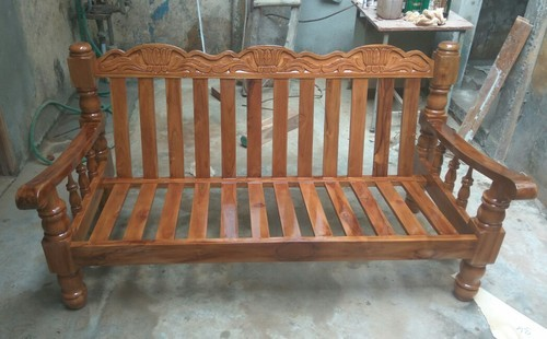 Teak Wood Sofa Set At Rs 17500 Piece Wooden Sofa Set Id