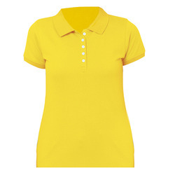 Various Colors Are Available No Half Sleeves Polo T-Shirt