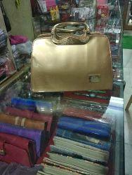 Velina Gold Hand Bag