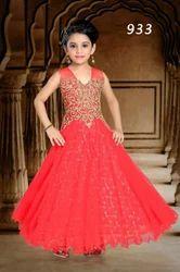 Stone Work Designer Gown For Girls