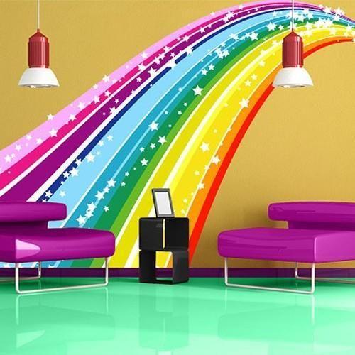 Multicoloured Wall Decals Sundek Interio Manufacturer In Fort - Wall decals mumbai