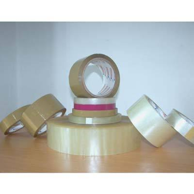 Transparent Plain BOPP Tape, Thickness: Standard