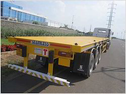 Seamless Autotech Chassis Carrier - 3 Axle, for Industrial