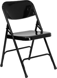 Simple Metal Folding Chairs Chair And Inspiration Decorating