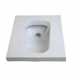 White Squatting Pan
