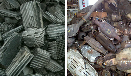 Catalytic Converter Scrap, Recycling Services - ZII Metal ...
