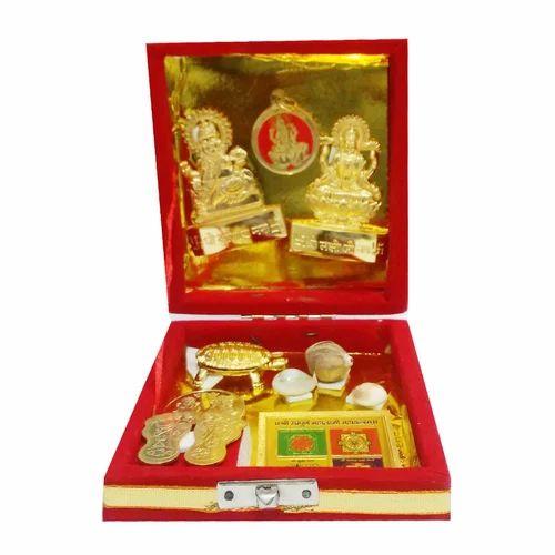 Yantra - Gold Plated Mantra Siddh Dhandha Laxmi Prapti Yantra