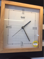 Wood Finish Wall Clock