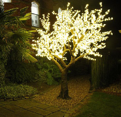Outer LED Tree Light Also Size is 8 to 16 feet Available