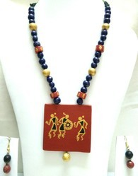 Traditional Terracotta Necklace Set