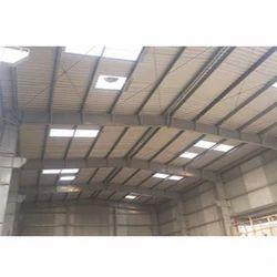 Mild Steel Pre Engineered Building Shed