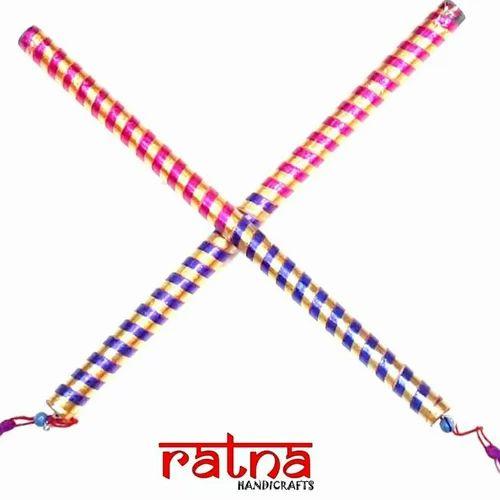 Dandiya Colorful Decorated Dandiya Sticks Manufacturer