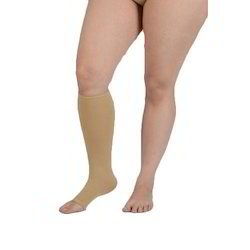 Open Toe Compression Stocking