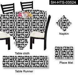 Printed Halloween Table Linen Set