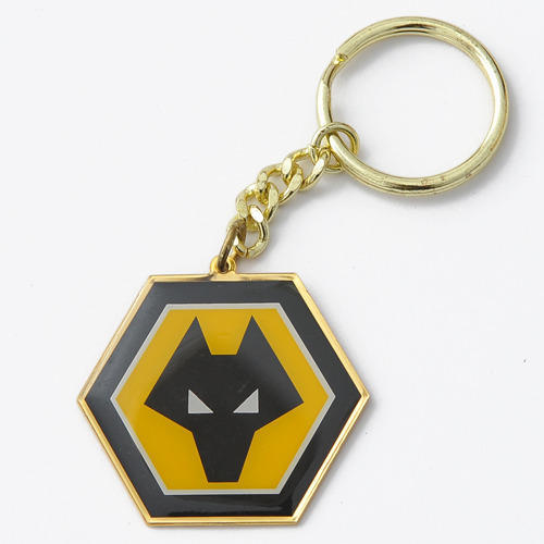 Stainless Steel Printed Keychains, Shape: Hexagon