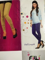 Lycra Four Way Ladies Leggings With 50 Shades Of Clour