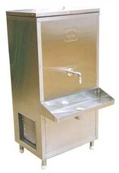 Single Tap Commercial SS Water Cooler