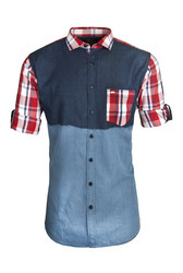 Dual Color Denim Wear Shirt