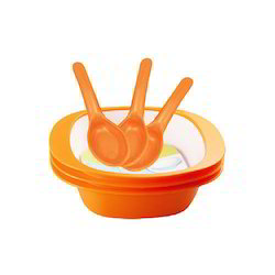 Spicy Bowls 3pc Set with Spoons