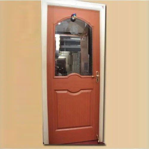 Half Gl Wooden Door