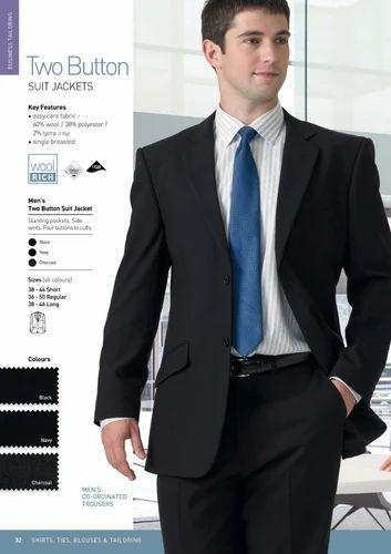 2c8b862d0 Men's Two Button Cotton Corporate Suit, Rs 2500 /set, Deep Fashion ...