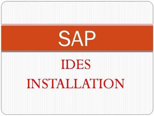 IDES SAP Software Installation for All Modules in Jayanagar