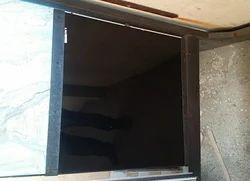Black Vitrified Tile, Size: Large