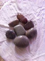 Multicolor Tumbled River Pebble Polished, For Decor
