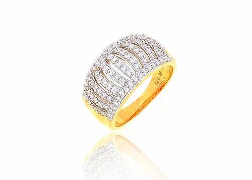 Designer Gold Ring P N Gadgil & Sons Retailer in Pune