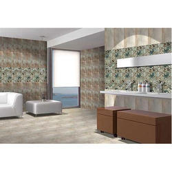Blue Natural stone Modern Ceramic Wall Tile 12''-18'', Thickness: 10-15 mm