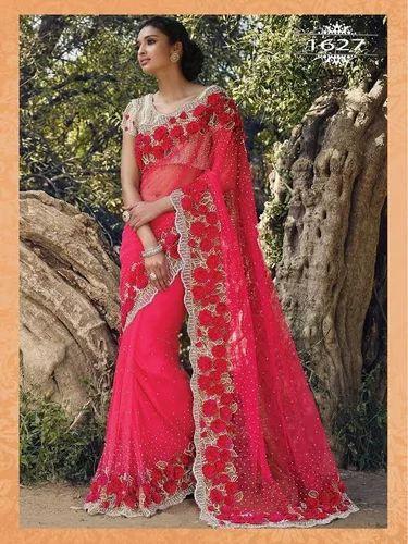 7e71ce18d Net Red Designer Sarees