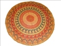 Indian Round Mandala Tapestry