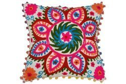 Uzbek Embroidery Cushion Cover
