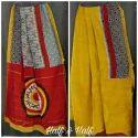 Silk Cotton Chanderi Saree