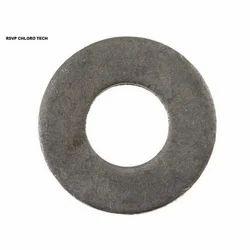 Black Galvanized Lead Gasket, Round