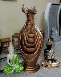 Fiber Glass Modern Polyresin Flower pot shaped Fountain, Size (centimetre): 98 Centimetre