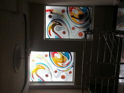 Designer Painted Glass