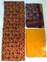 Female Low Price Wax Batiks Dress Material, GSM: 150-200