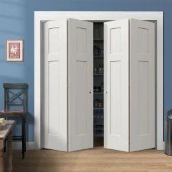 Folding Doors Wooden Bi Fold Sliding Door Accessories, For Home, Size/Dimension: 1000 Mm