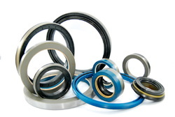 Grey, Blue And Black Rubber Oil Seals