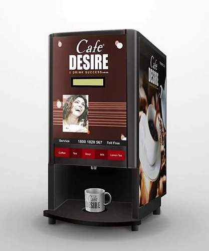 Cafe Desire Double Option Tea Coffee Vending Machine, Rs ...